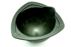 Rubber Investment Mixing Bowl, 135mm. Wax Casting, Jeweller, Dentist, Cast.